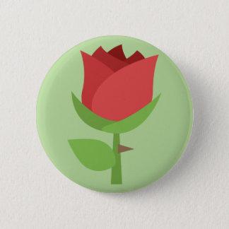 Tulip Emoji 6 Cm Round Badge