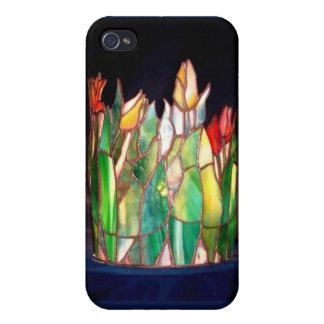 Tulip Family Lamp Fine Art i iPhone 4 Cover