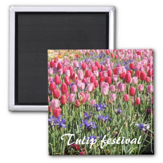 Tulip festival magnet
