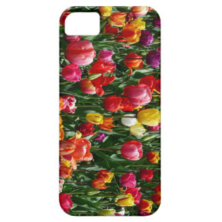 Tulip field colorful iPhone 5/5S cases