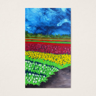Tulip Field: Holland Business Card