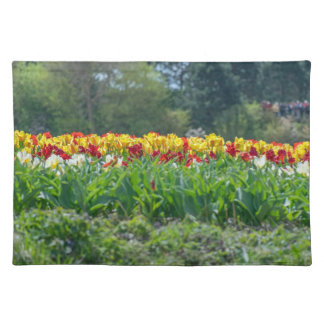 Tulip field placemat