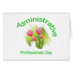 Tulip Flowers Administrative Professionals Day Card