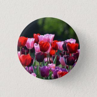 Tulip Flowers Badge / Button