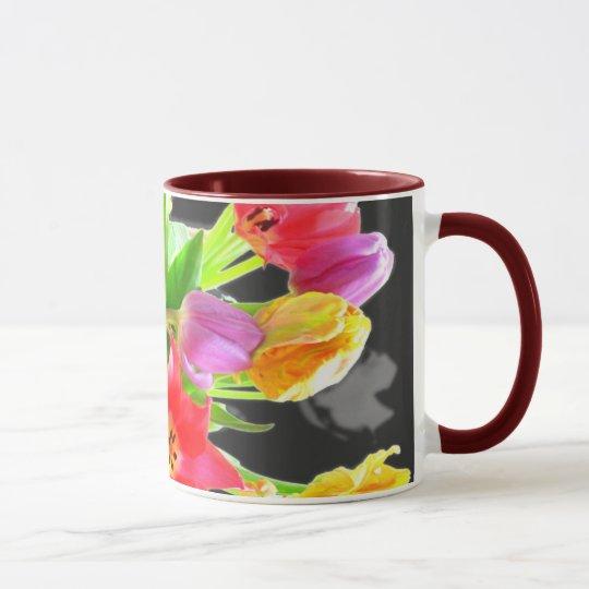 Tulip Flowers Mug