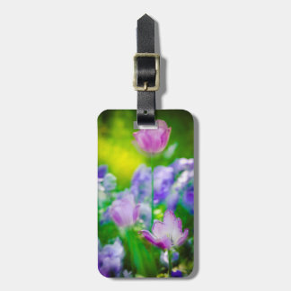 Tulip garden, Giverny, France Luggage Tag