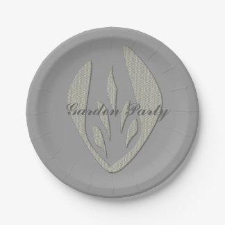 Tulip Garden Party Paper Plate