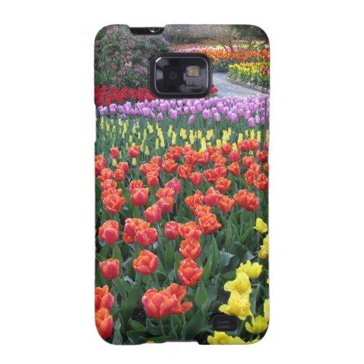 Tulip Gardens Samsung Galaxy SII Cases