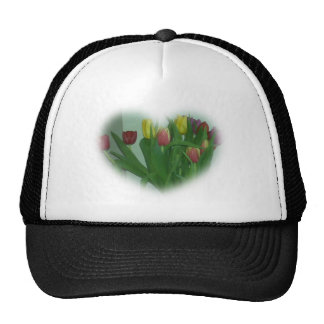 Tulip Heart Hat