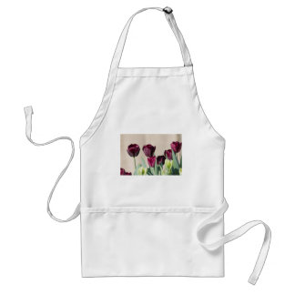 tulip in the garden standard apron
