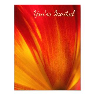 Tulip 11 Cm X 14 Cm Invitation Card