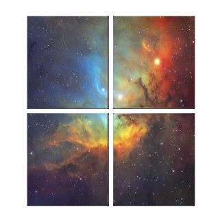 Tulip Nebula Gallery Wrapped Canvas