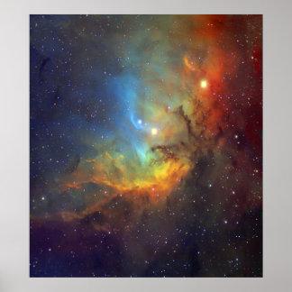 Tulip Nebula SH2-101 NASA Poster