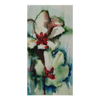 Tulip photo card