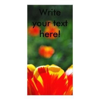 Tulip Photo Card Template