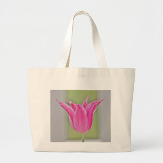 Tulip photo jumbo tote bag