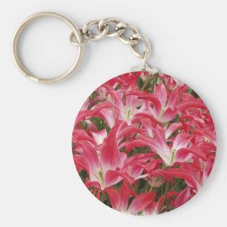 Tulip Photos Keychain