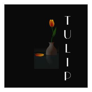 TULIP POSTER PHOTOGRAPHIC PRINT