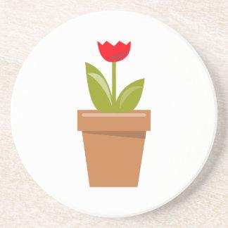 Tulip Pot Coasters