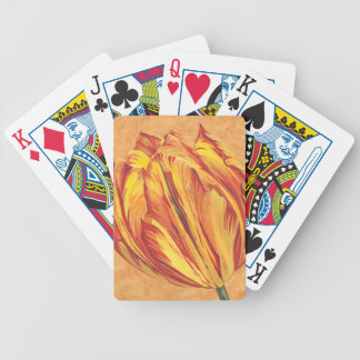 Tulip Power I Bicycle Playing Cards