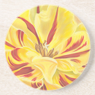 Tulip Power II Beverage Coasters