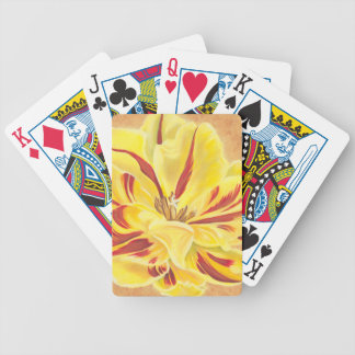 Tulip Power II Bicycle Playing Cards