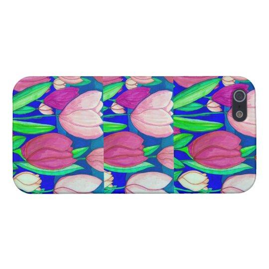 Tulip Print iPhone Case iPhone 5 Cases