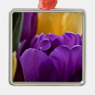 Tulip Purple Christmas Ornament