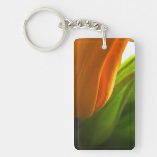 """Tulip"" Rectangle (single-sided) Keychain"