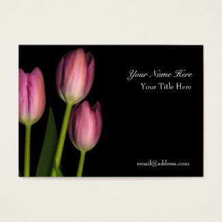 Tulip Reflection Business Card... - Customized Business Card