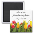 Tulip Save the Date Magnet