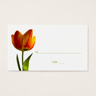Tulip Special Occasion Place Card or Escort Card