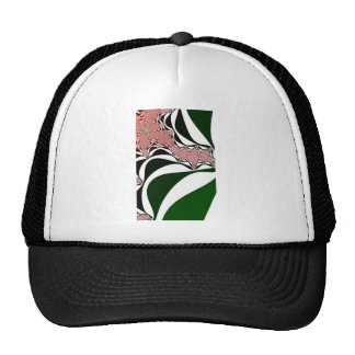 "TULIP "" Spirit of Grace"" Fractal Abstract Art  HAT"