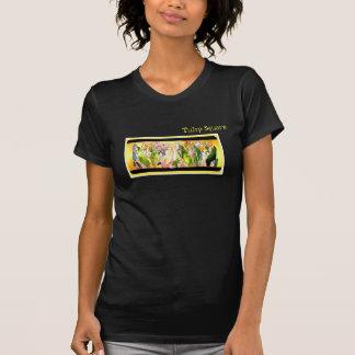 Tulip Square COOL Print T-shirt