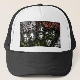 Tulip Squares Trucker Hat