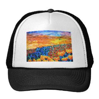 tulip sunset mesh hats