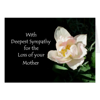 Loss Of Mother Sympathy Cards & Invitations | Zazzle.co.uk