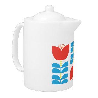 Tulip Tea Pot