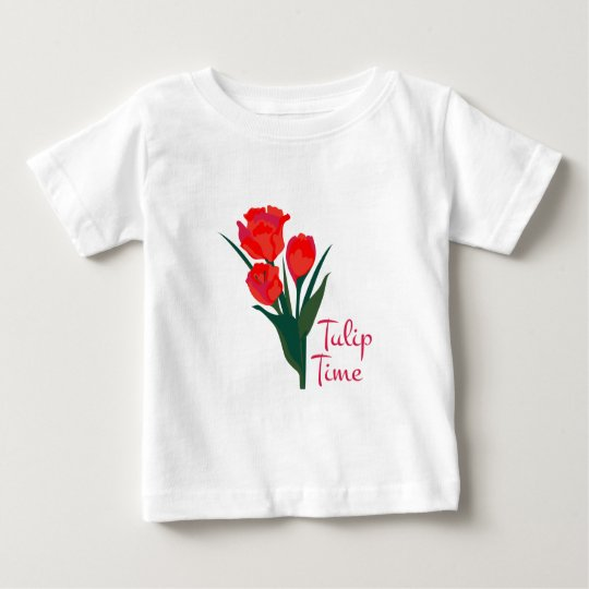 Tulip Time Baby T-Shirt