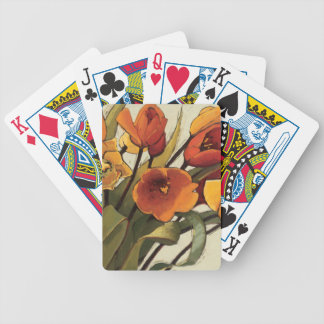 Tulip Time Bicycle Playing Cards