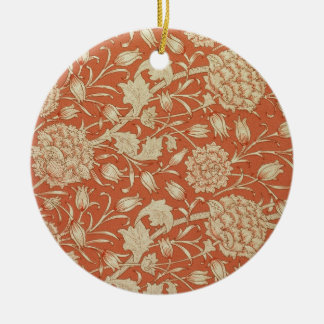 Tulip wallpaper design, 1875 christmas ornament