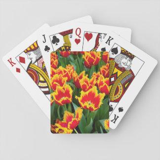 Tulipa Fabio, Keukenhof, Netherlands Playing Cards