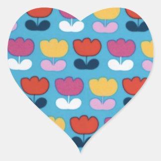 Tulipes Heart Sticker