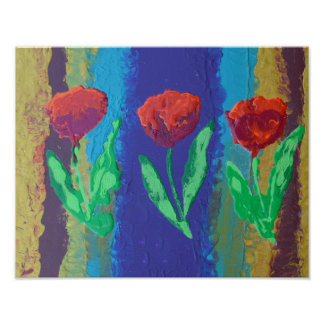 Tulipmania : original art print