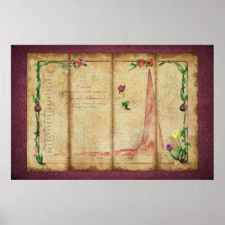 Tulipomania Graph byzantium Posters