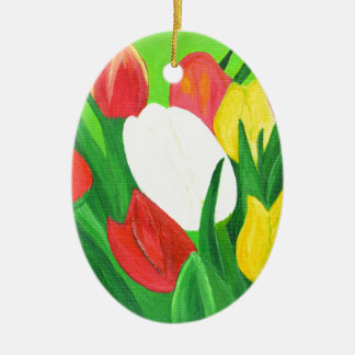 Tulips2 Christmas Ornament