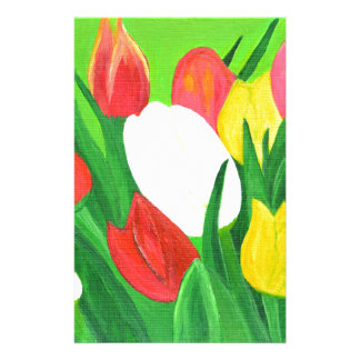Tulips2 Stationery