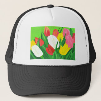 Tulips2 Trucker Hat