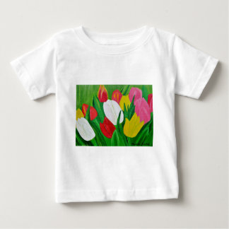 Tulips 2a baby T-Shirt