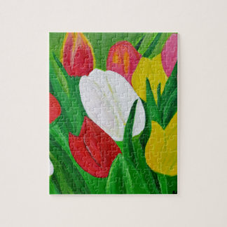 Tulips 2a jigsaw puzzle